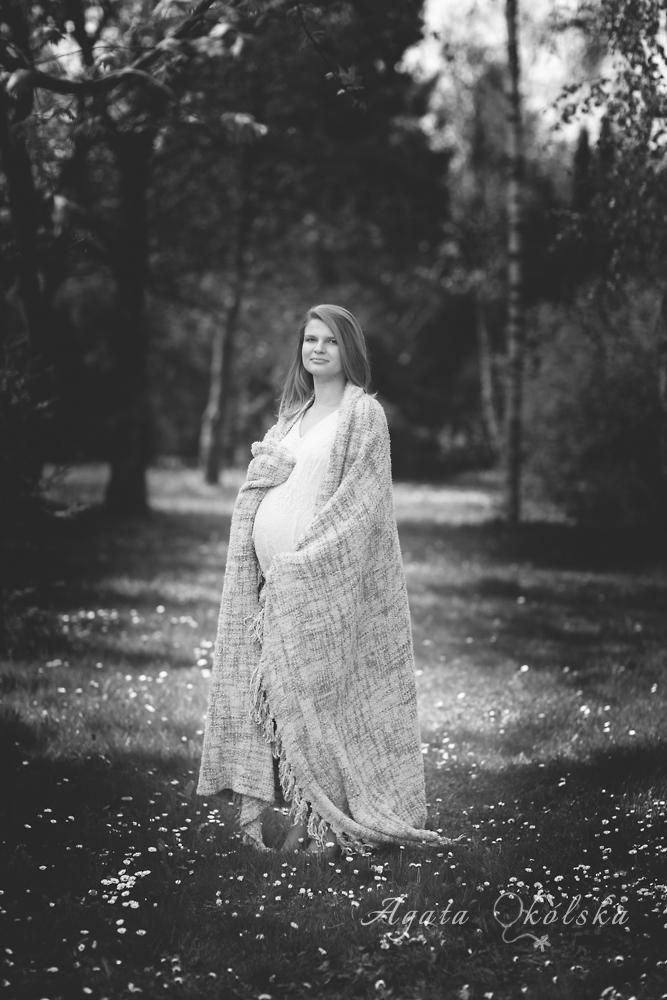 mama w ciąży sesja Lublin