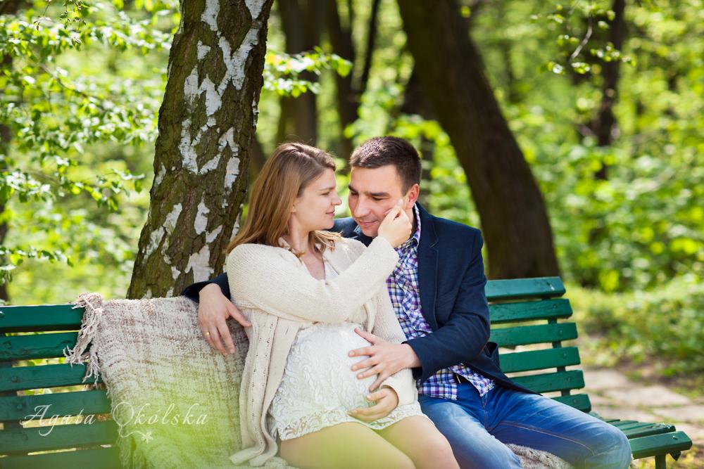 fotografia ciążowa w Lublinie