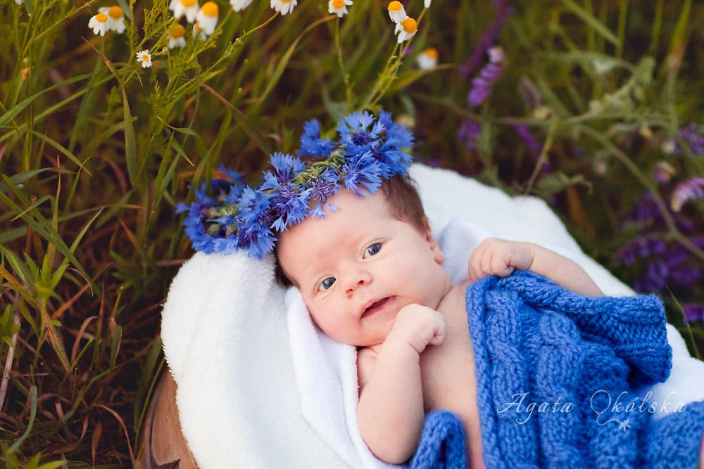 fotografia noworodkowa kraków chabry