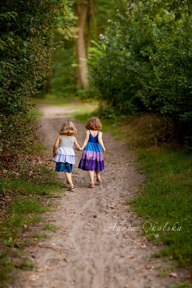 jesienna sesja dzieci
