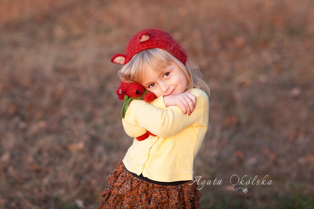 sesja dzieci jesienią