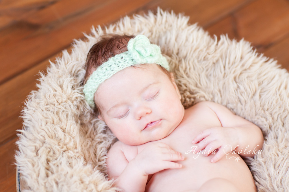 fotografia niemowlęca Wiktoria